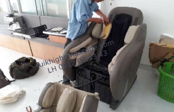 Cách tháo lắp túi khí ghế massage tại nhà