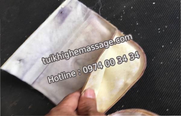 Thay túi khí ghế massage khách hàng có cần kiểm tra từng túi